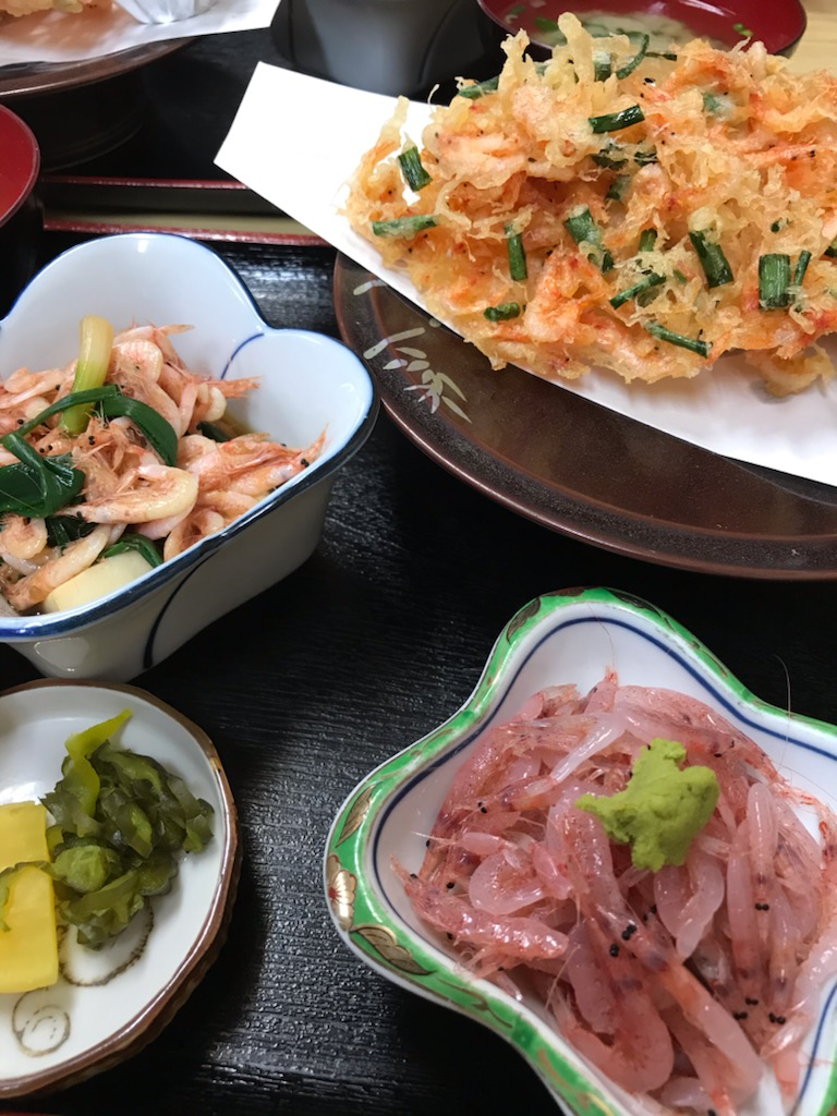 桜海老定食