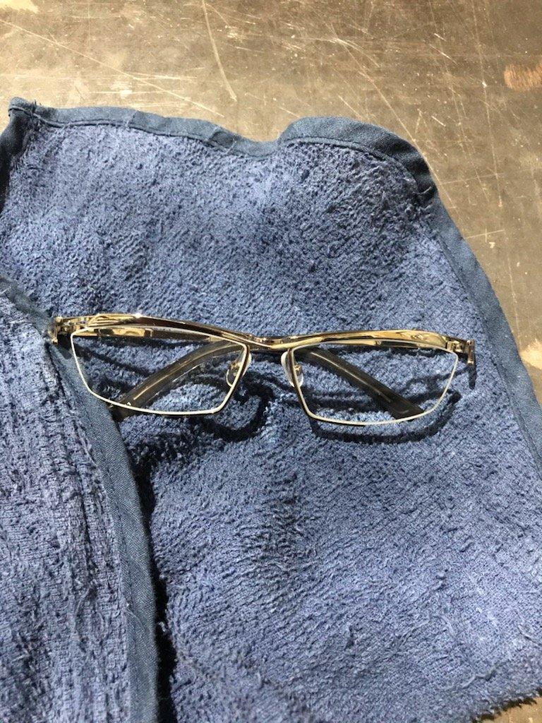 溶接用メガネ