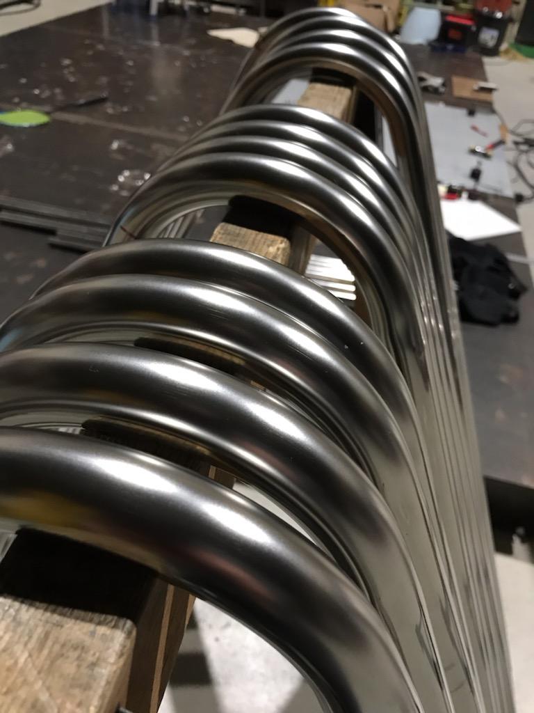 ステンレス製移動式鉄棒