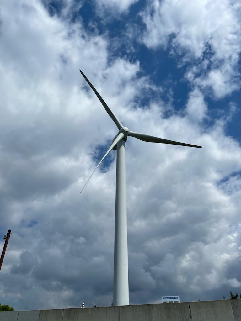 風力発電 止まってますけどね・・・