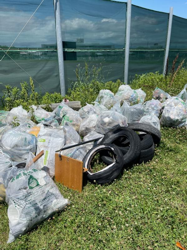 中島海岸清掃