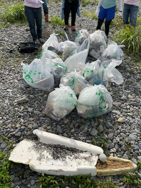 広野海岸清掃活動